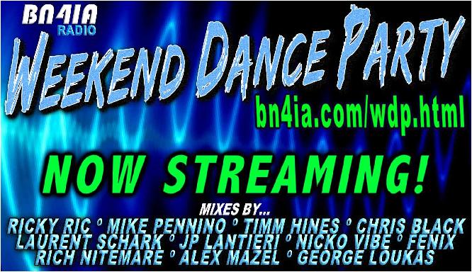 #NowStreaming❗#WDP441 @RickyRicMix @chrisblacknyc @DJTimmHines @lsselection @JPLantieri @djfenixofficial @Nicko_Vibe @GeorgeLoukas #AlexMazel #DJNitemare 🔊 https://t.co/uVy7AxiIFX  #DJs #mixshows #dance #RadioShow #DJSets https://t.co/cCQQjlP0Fl
