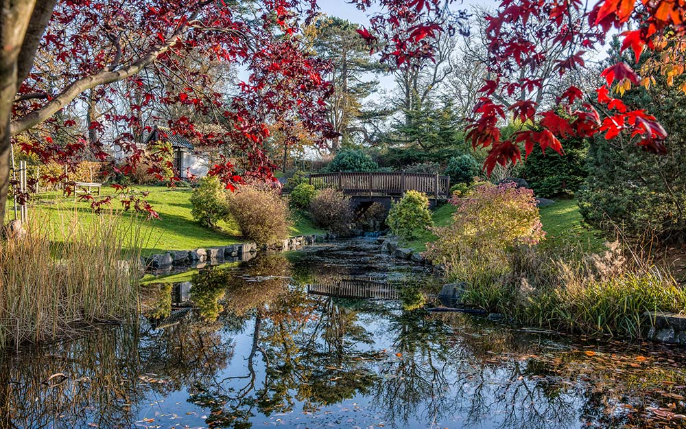 The release this week of a new film adaptation of #TheSecretGarden, has ignited a love of secret spaces.  Our Japanese Garden at #LauristonCastle is our magical space. Read more here:  from the @Telegraph #Edinburgh #thisisedinburgh