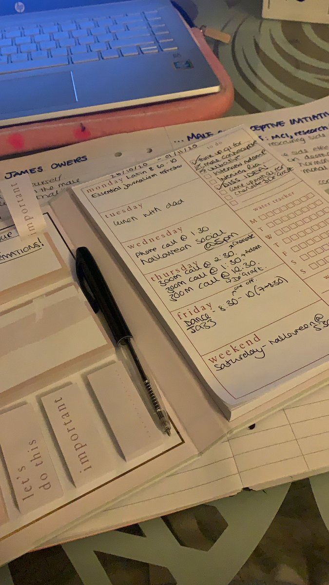 Never thought I'd be the one to start writing down my schedule 😂😅 #busybee #journalist #busy #Schedule #organised https://t.co/u7o2GIoWDM