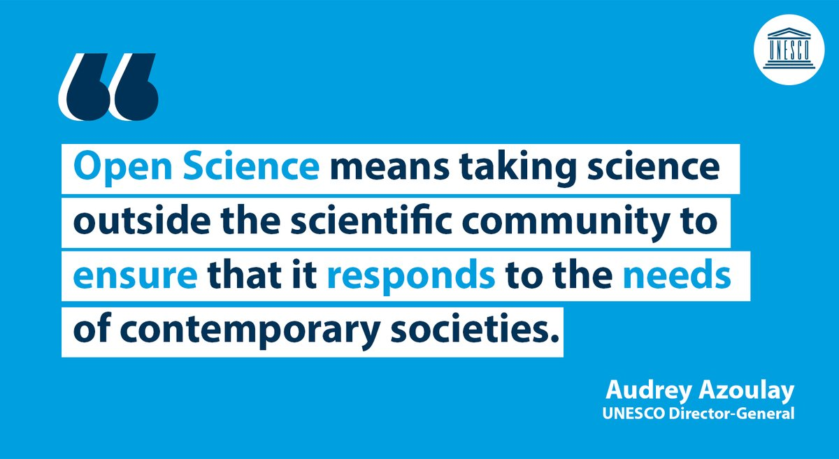 As #COVID19 knows no boundaries, neither should science in our fight against this global pandemic.  @UNESCO Director-General @AAzoulay highlights the urgent need for #OpenScience during joint appeal with @DrTedros and @mbachelet.   Learn more: https://t.co/ia7sRO0oat https://t.co/fDKktRY8IX