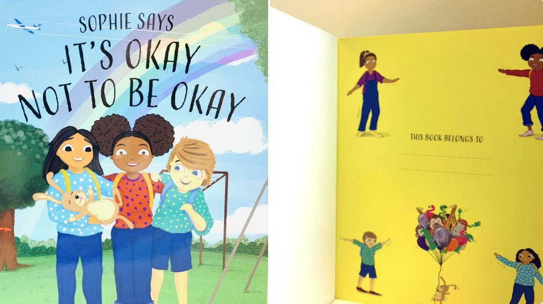Exclusive!🌟Sophie Says It's Okay Not to Be Okay 🖋Signed Copy First Ed. Order Now via our store 🛍 FREE delivery📦& dispatch today before 6PM! https://t.co/5m4Dgu1LXM #itsokaynottobeokay #esthermarshall #ChildrensBooks #halfterm #halfterm #kidsbooks #MentalHealthAwareness #books https://t.co/seMtfnTgvF