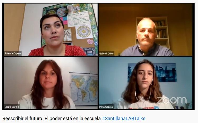 #PámelaOspina @gabrieldeler #LauraGarcía e #InmaGarcía coinciden en que #Solidaridad #Sostenibilidad han llegado para quedarse #SostenibilidadyEscuela #SantillanaLABTalks https://t.co/kPF7ubGwk2 https://t.co/JDh5oIMrIw