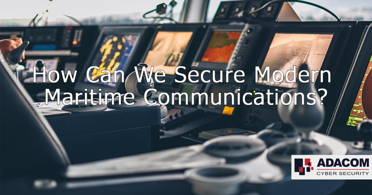 Digital ship-to-shore communications increase the maritime threat landscape.  What are the best practices for securing these essential comms?  Read more on my post for @AdacomCyber   https://t.co/hVrDGwwTek  #communications #cybersecurity #maritime https://t.co/iAynltsRTu