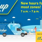 Image for the Tweet beginning: REMINDER: #Pickup services hours are