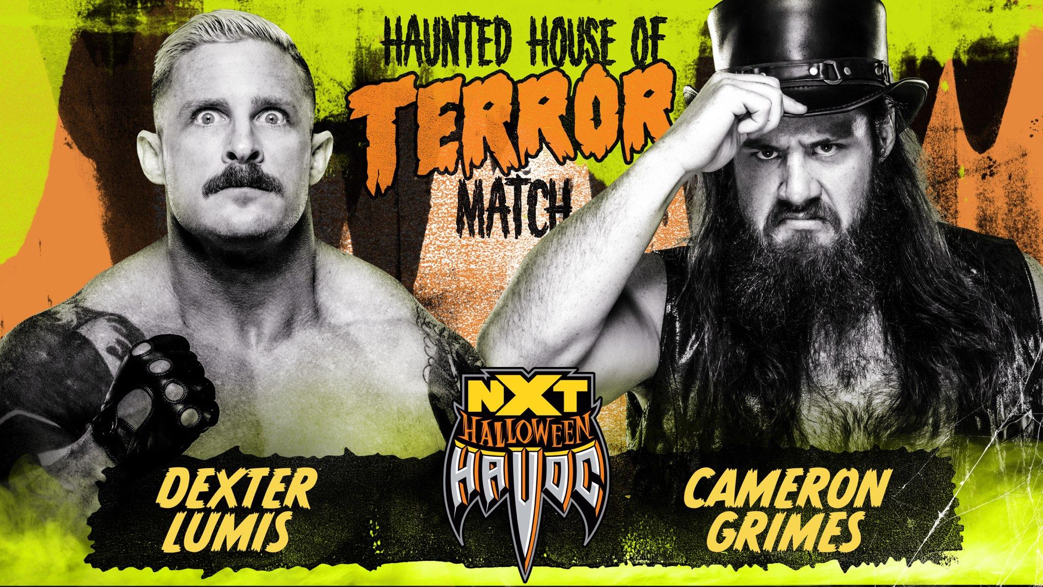 NXT Halloween Havoc Haunted House