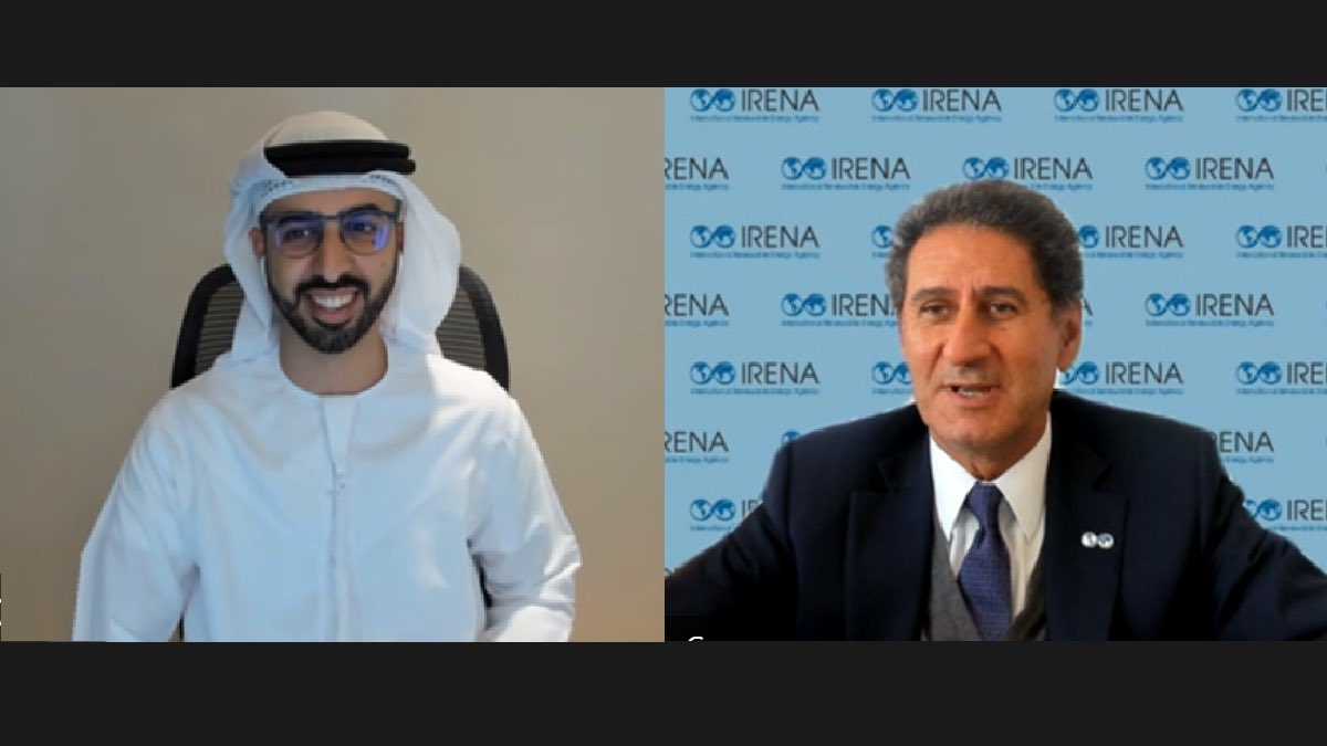 The @WorldGovSummit's focus has moved from discussion to action, in much the same way as @IRENA. #UAE Minister of Digital Economy @OmarSAlolama and I today discussed a deepening of bilateral engagement and agreed that now is the time to use our convening power to drive action. https://t.co/nUIMP906rQ