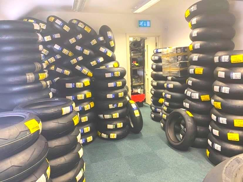 When you dedicate a full centrally heated office to keep them pre ordered tyres for winter European trips nice and warm. That said, the office staff don't seem too enthusiastic about working outside. #socialdistancing #covidsafe I call it 😂 #nolimitstrackdays #europeantrackdays https://t.co/BcmK7phBuj