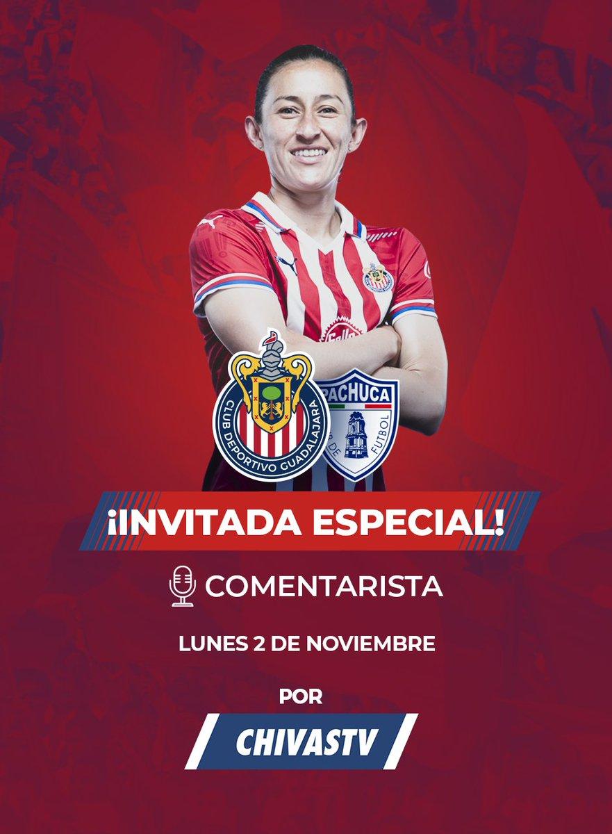 ¡IMPERDIBLE! 😱  ¡Este próximo lunes disfruta el Chivas vs. Pachuca de la Liga MX Femenil con los comentarios de nuestra 'CapiTania' @moralesMB10 ! ⚽️ 🎙  ¡SUSCRÍBETE a 🔴 CHIVASTV HOY MISMO!  👉 https://t.co/AJKsTDyTgI https://t.co/Qa5iRJ89Cc
