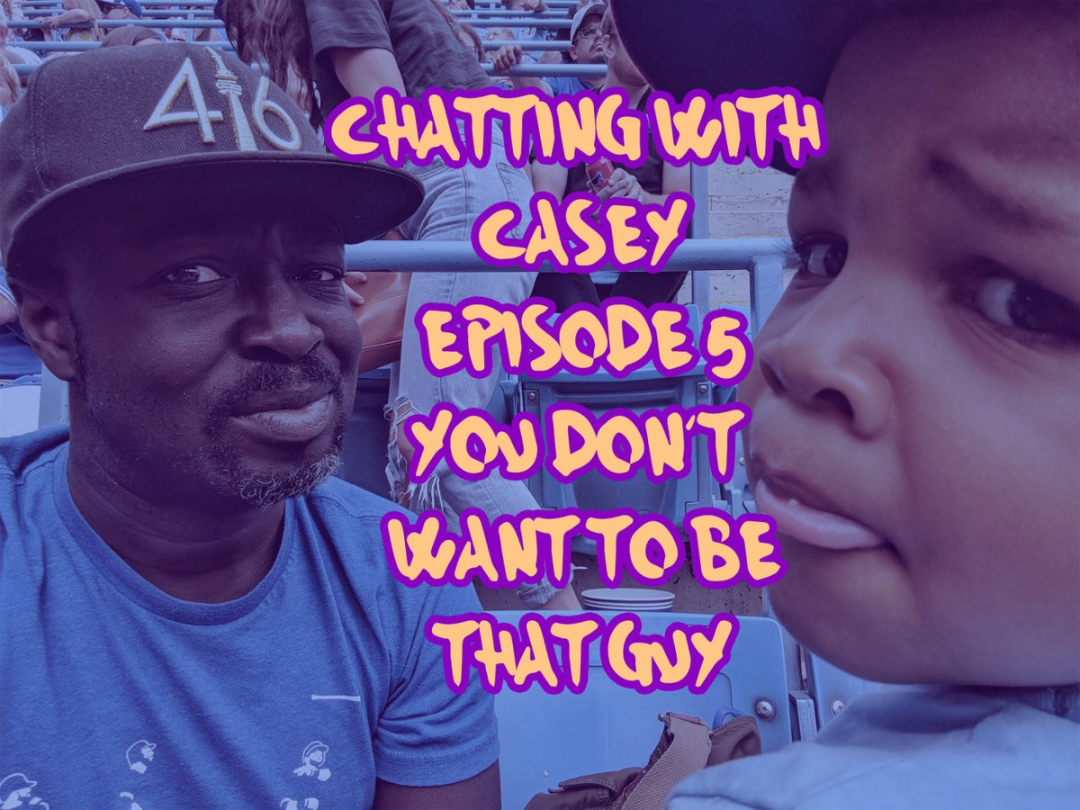 I hope my children have long and HEALTHY lives ahead of them.  Sadly, not every parent has this option.  We don't discuss child illness often enough, and in this episode, I chat with a Wish Dad on this VERY topic.  https://t.co/hzOGLxvZcu  #podcast #podcasts #blkcreatives https://t.co/TcYvXMRHOk