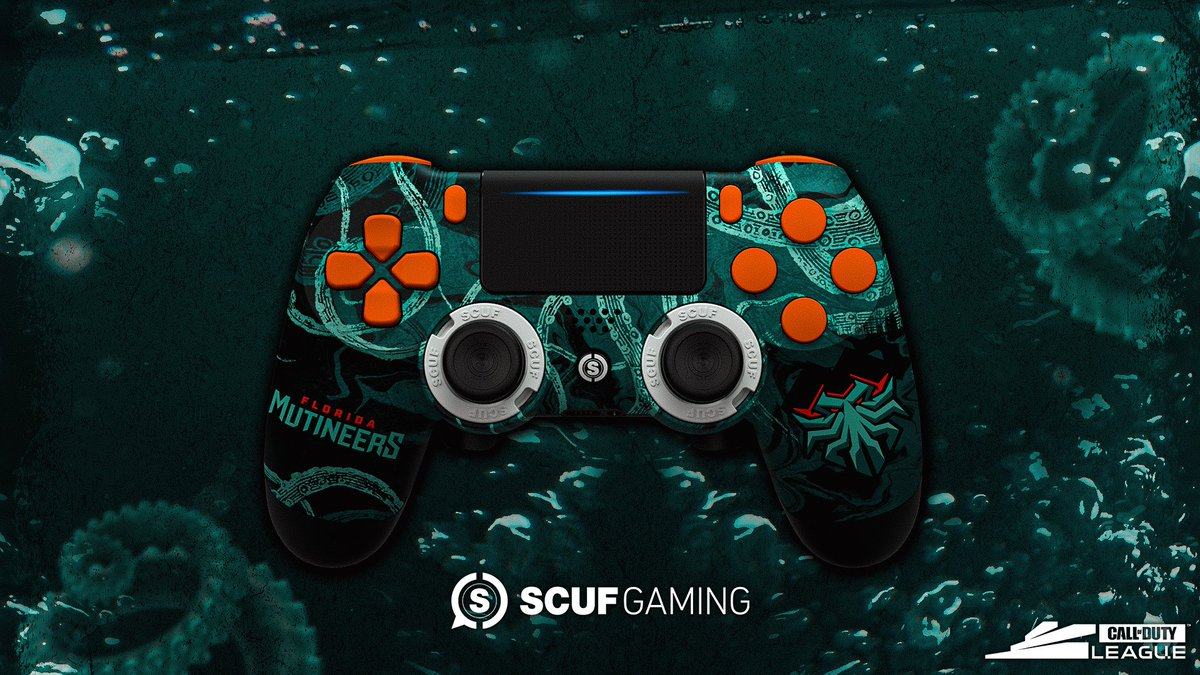 Cold War season is right around the corner. Perfect time for a teal and orange addition 👀 » scuf.co/scufxcdl «