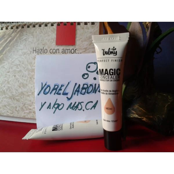 Compra en YORELJABONES | CORRECTOR EN CREMA  PERFECT FINISH MAGIC CONCEALER por un costo de Bs 0,00 Petros 0,00 Dólar $4,00 Visitanos en https://t.co/yDZQ45QT3F  #TiendaEnLinea https://t.co/thZSer1jYo