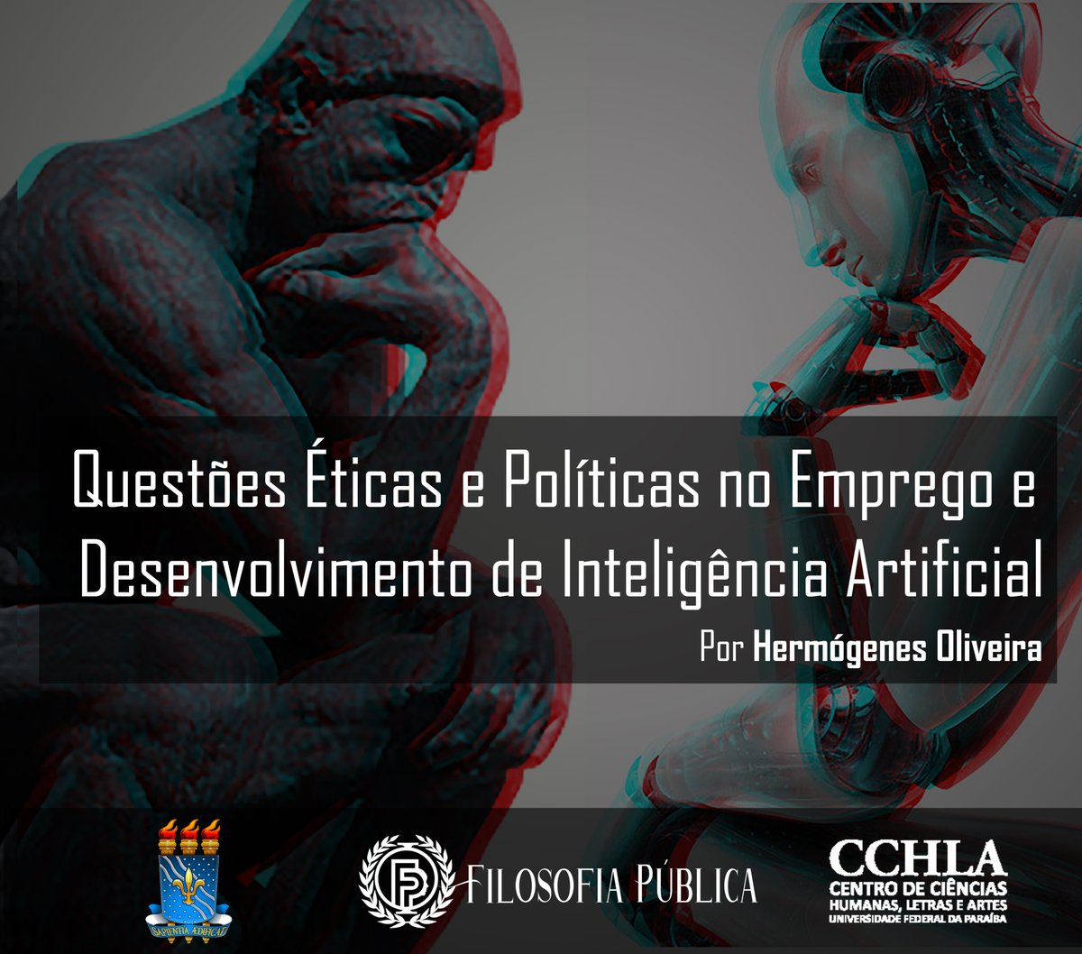 #InteligenciaArtificial #ArtificialIntelligence #Philosophy #ethics #policy #Filosofia #robo #Robotics https://t.co/vzMytcyRq4
