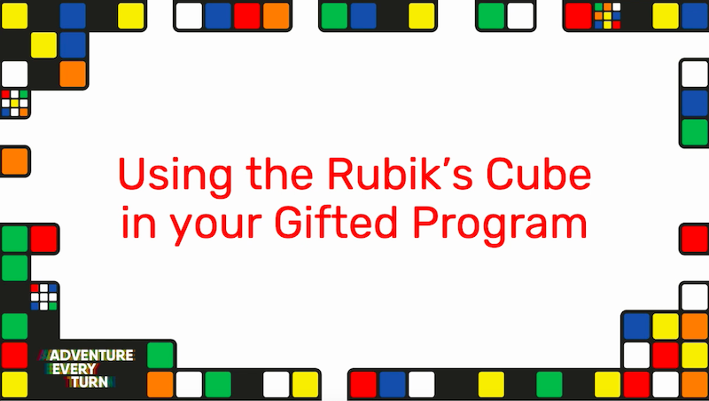Teacher Tuesday! Curious about using Rubik's Cubes in your gifted program? Check out this short video to learn more: https://t.co/C70gLpodFm #gifted #gtchat #talented https://t.co/33MO7wC77C