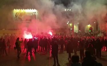 , Νεοφασίστες διαδήλωσαν στη Ρώμη ενάντια στα μέτρα για τον κορονοϊό, INDEPENDENTNEWS