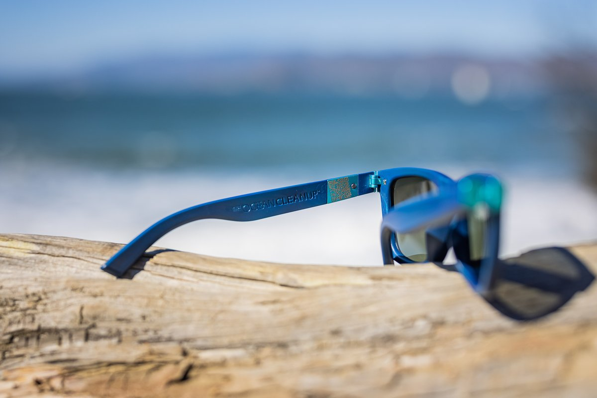 Our friends @TheOceanCleanup have made these supercool sunglasses entirely from ocean plastic. Each pair sold will fund their efforts to clear the Great Pacific Plastic Patch. Order your pair here: .  Love c, g, w, j & p