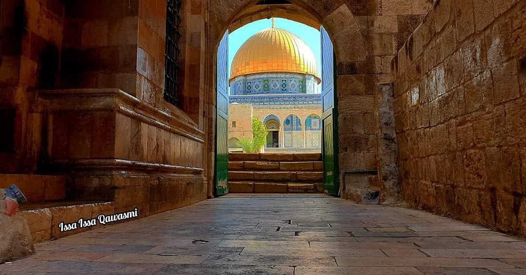 قبة الصخرة في المسجد الأقصى المبارك من باب المطهرة #aqsa #alaqsa #alquds #bahrain #palestine #فلسطين #البحرين #القدس #الأقصى#aqsa #alaqsa #alquds #bahrain #palestine #فلسطين #البحرين #القدس #الأقصى https://t.co/6W8N0qZWMy