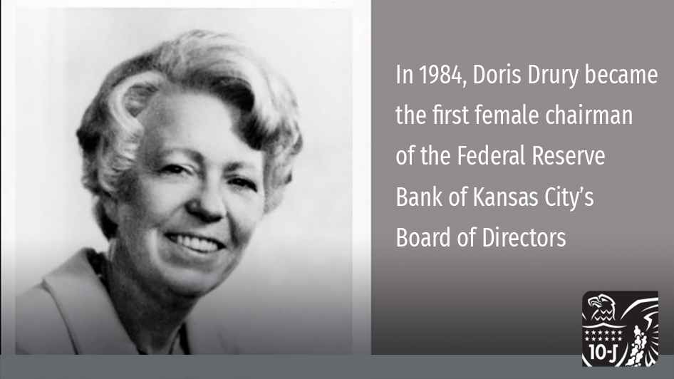 Women have played an important role in helping the #KCFed fulfill our mission of working in the public's interest by supporting economic and financial stability. Learn about some important women in our Bank's history: https://t.co/s799ElIRYM #FederalReserve #WomenInBusiness https://t.co/PPIzhNhiwv