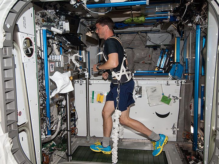 Heres a fun way to celebrate the 20th anniversary of the @Space_Station! Join our friends from @NASA_Marshall and get active with their Sweatin with the Station virtual workout! Grab your running (or walking!) shoes and get the details here: go.nasa.gov/3mtnNqU
