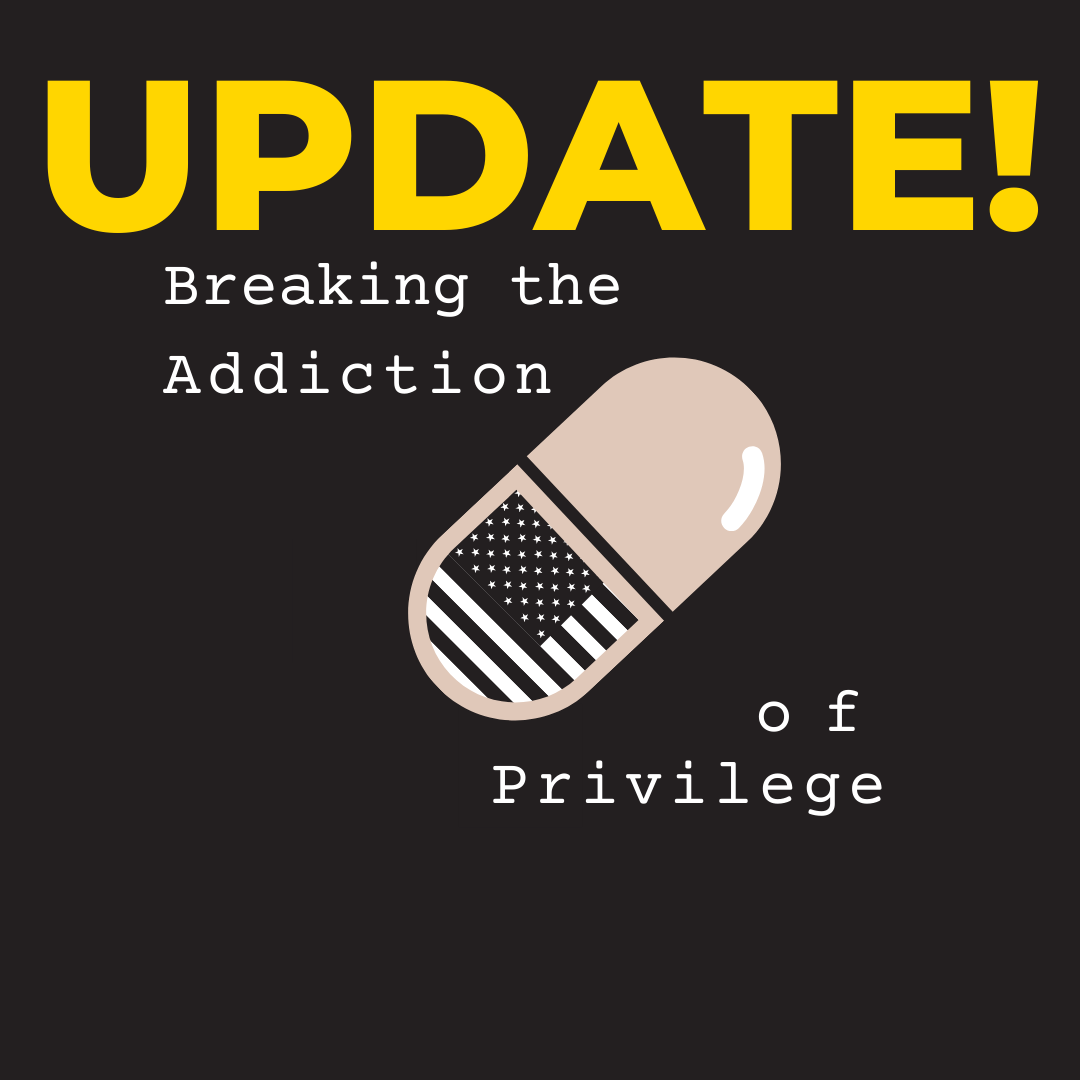 We previously posted that today's Breaking the Addiction of Privilege workshop would begin at 2 PM PST, which contradicted the 3 PM PST start time on our website and we wanted to clear that up.  The workshop will begin AT 3 PM PST.  Our apologies. See you soon! https://t.co/zmcpfClsR7