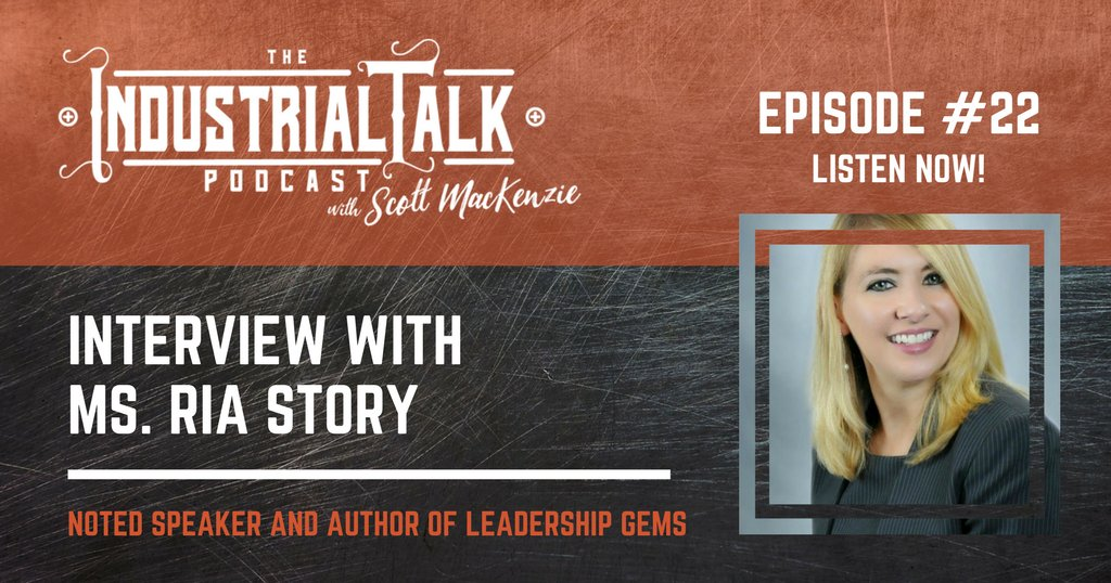 Ria Story talks about the positive impact Curiosity has on your business, organization and personal life. Listen: https://t.co/csj8wQzDzZ #podcasting #industrialtalk https://t.co/8bFPULH15j