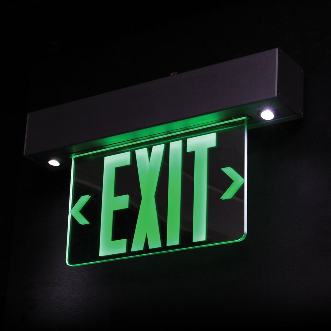 One of the best looking exit sign & emergency lighting combo fixtures you'll ever see! https://t.co/Ltrp0ipLen   #exitsign #exitsigns #safety #buildingsafety #employeesafety #lifesafety #customersafety #staysafe #barronlighting https://t.co/4DJngsgY3h