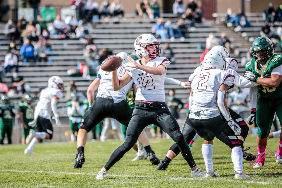 Senior QB #12  Ethan back to pass for the Chargers vs Bear Creek.  Hope to see you back on the field soon!  #JK #JKPhotography #JKPHOTOGS  #copreps #jeffcopreps #Sports #Football #ChatfieldFootball #ChargerFootball #ChatfieldHighSchool https://t.co/G9SB7C1RFs