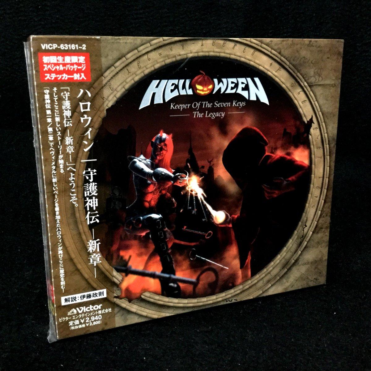 "15th ANNIVERSARY!!!!!!!!!!!!!!!!!!!!!!!!!!!!!!!!!!  HELLOWEEN ""Keeper Of The Seven Keys: The Legacy"" [October 28th, 2005 MA / October 31st, 2005 wiki,JAPAN]  #HELLOWEEN #KeeperOfTheSevenKeys #守護神伝 #守護神伝新章 https://t.co/bPBRwAfjA2"