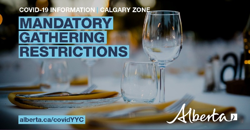 Alberta Government On Twitter Effective Immediately A Mandatory 15 Person Limit On All Social Gatherings Is In Place For The City Of Calgary This Applies To All Social Or Family Gatherings Including Parties