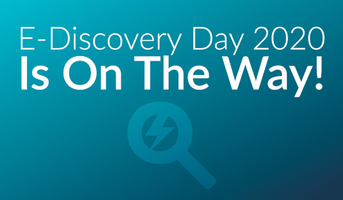 Get more #ediscovery education in one day than the rest of the year combined at the 6th Annual #eDiscoveryDay virtual conference on December 3. Learn more: https://t.co/EY1hkDCX6B   #litigation @Exterro https://t.co/YbPqJhZEiT