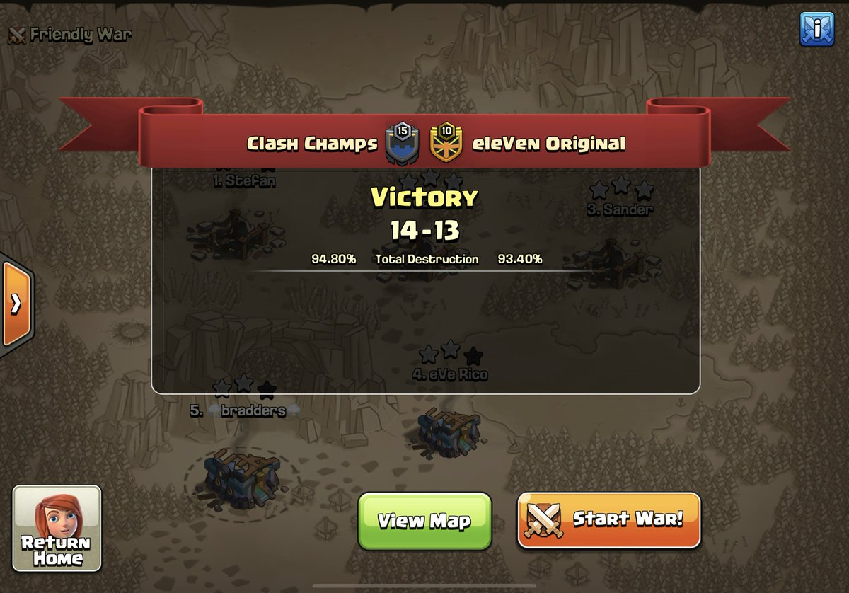 Big night for us 3 wins out of 3 in @ESLClashofClans EU,   GG @eleven_original , #PolishPower and #LTVIP  Hopefully tomorrow we can turn it on again and qualify to the next phase... https://t.co/fH4NCmokr7