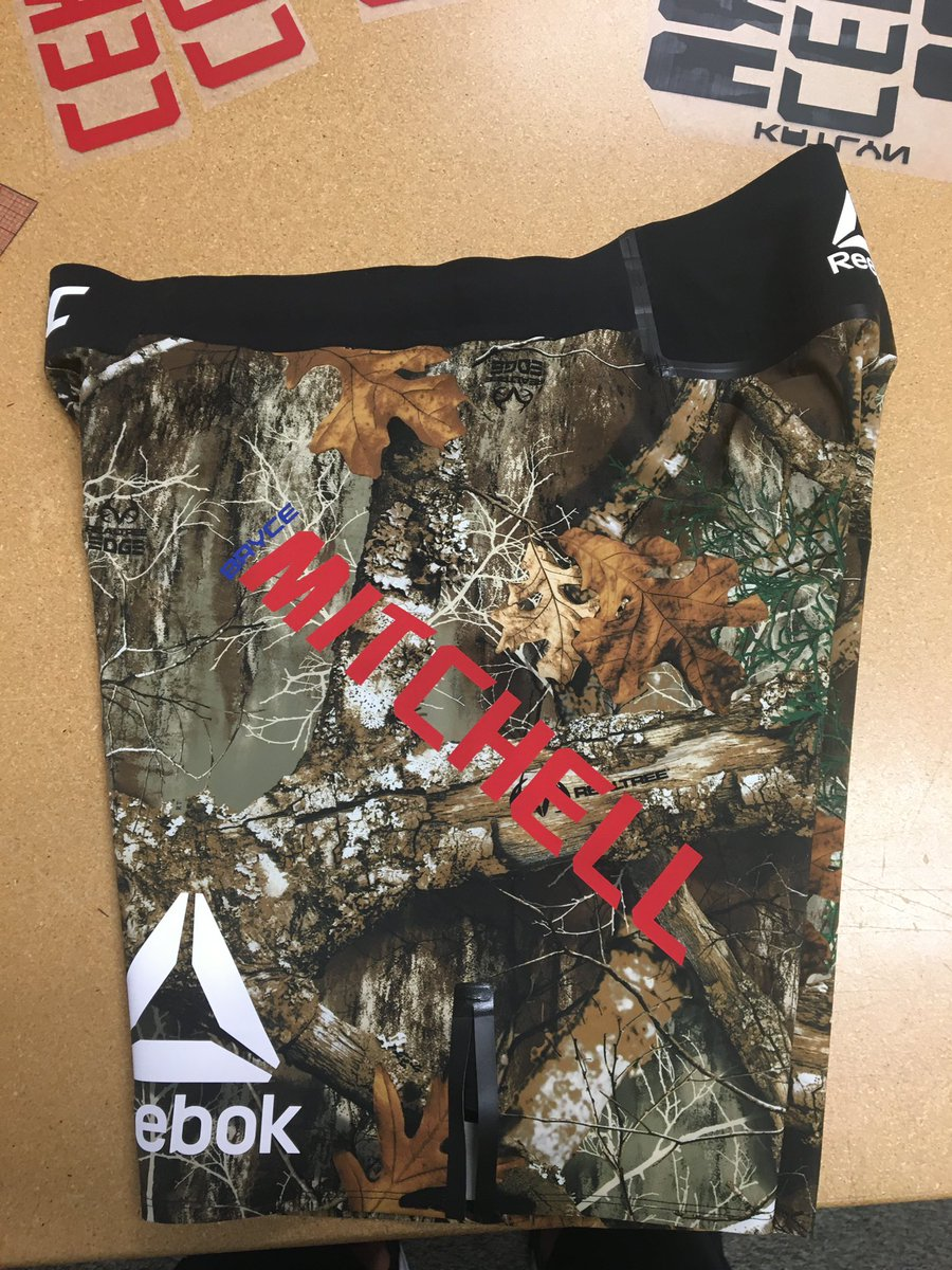 .@ThugnastyMMA FINALLY got his camo shorts. He'll be fighting in them this Saturday on @espn+ https://t.co/8AlMqYVdsk