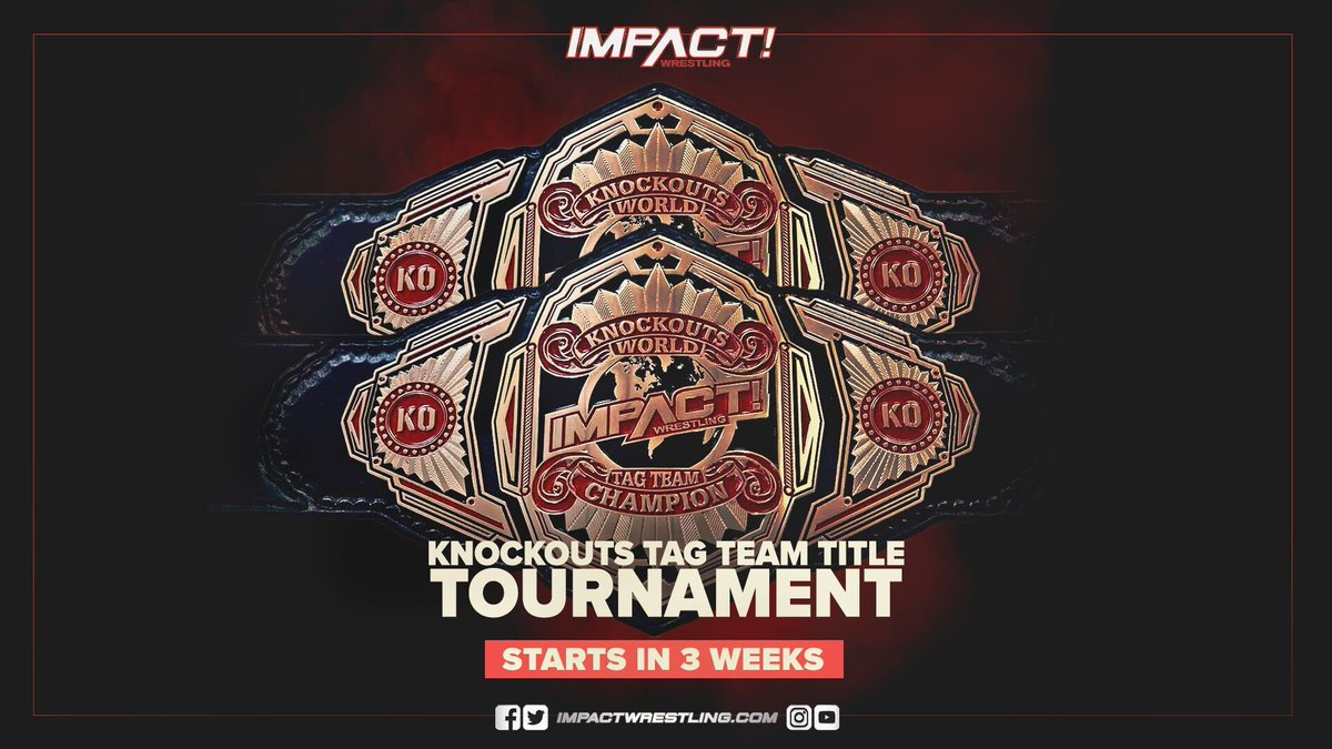 Impact's Knockouts Tag Team Tournament To Begin In Three Weeks