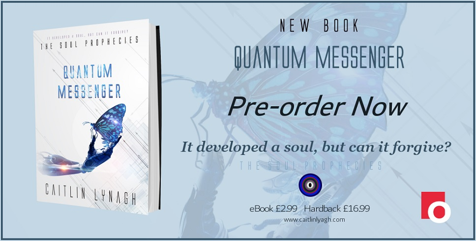 If Artificial Intelligence developed a soul, what would it do? Where would it go? And after life, could it help the dead guide the living?  Quantum Messenger ~ The sensational new #SciFi novel by award-winning author, @CaitlinLynagh  https://t.co/0E5tTJ3dop #readers #amreading https://t.co/i6anFHwSyD