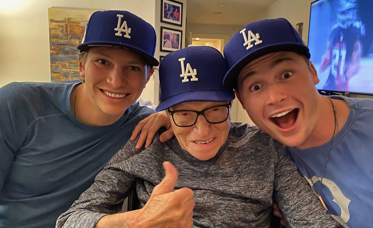 It's a good night ⚾️ #Dodgers #WorldSeries