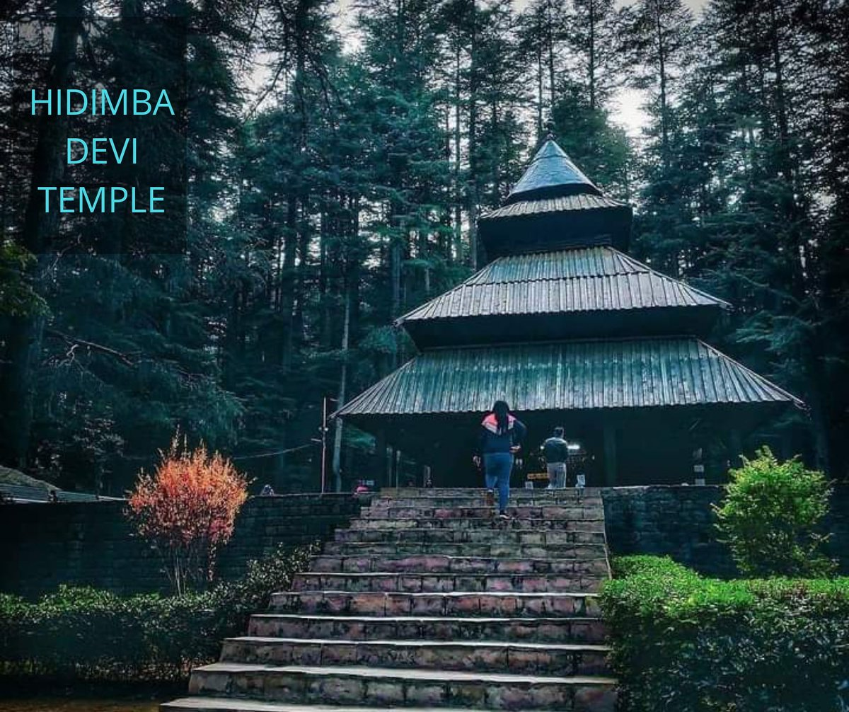 Located amidst the snow-covered hills of Manali, the Hadimba Temple is a unique shrine dedicated to Hidimba Devi, who was the wife of Bhima and mother of Ghatothkach.  . . #hidimba #hidimba_temple #manali #himachal #himalayas #love #hills #mountains #panchtattva_adventures https://t.co/IyJ5Ic8rEH