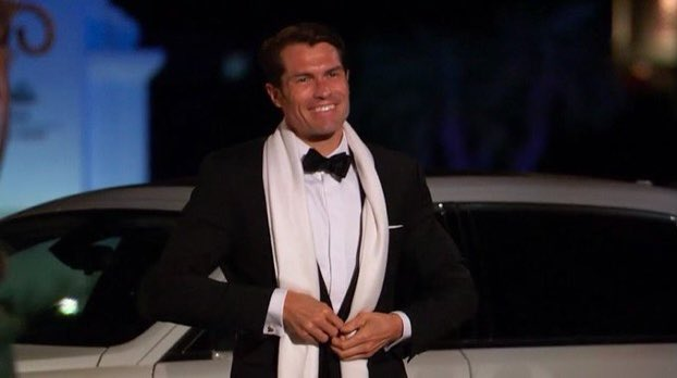 This man could run me over with a truck and I'd apologize #bachelorette #bennettforbachelor