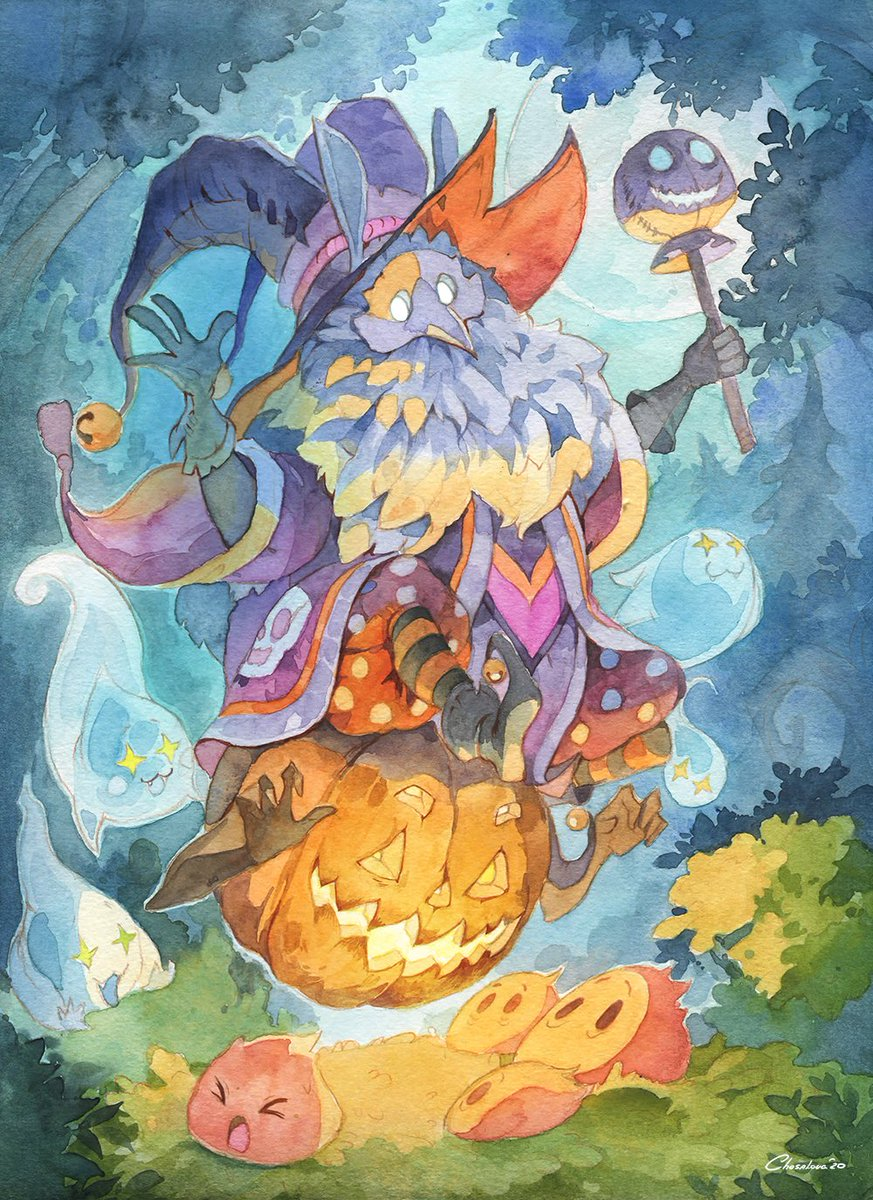 Ekaterina Chesalova On Twitter My Genshinimpact Art Contest Entry Halloween Abyss Mage Genshinimpact Halloween
