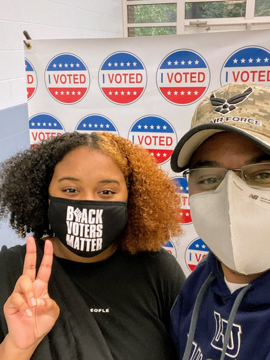 @BlackVotersMtr Sunny is a FIRST TIME voter. She registered and voted this evening. We are glad #TrolleyToThePolls is a part of her story. #BlackVotersMatter #NAACP https://t.co/XGNo8QdM6d