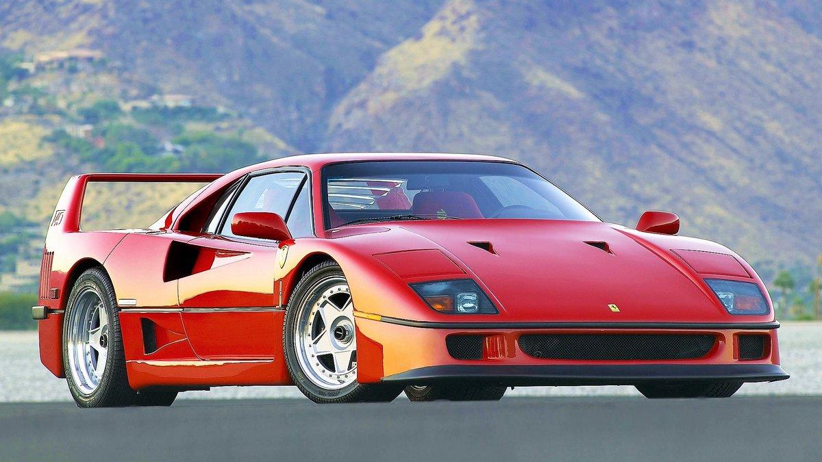 Auta, o których trzeba przypominać👇  ➡️🇮🇹 #Ferrari   🔸F40 (1989-92)  🔺Trzeba o nim przypominać, bo... Pomożecie? Nie wiem, co napisać😎 https://t.co/tfsSEjnZv9