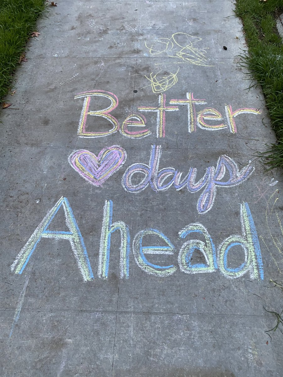 There are always better days ahead!