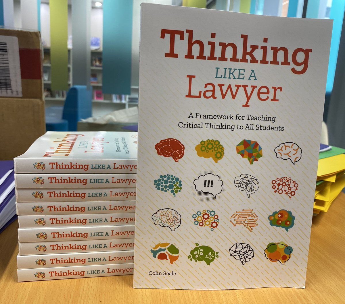 #PLbookclub 2021 sorted @SACSLearn! Looking forward to exploring @ColinESeale #thinkinglikealawyer to support our #giftedstudents . Super fast international shipping, thanks @prufrockpress #gtchat #aussieEd https://t.co/crRyMvzQv3