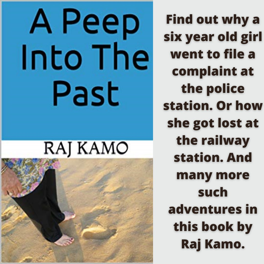 'A Peep Into The Past' is a roller coaster ride of adventures through almost eight decades. You will find war, fun, adventures, and much more in this book. Grab your copy here – https://t.co/DmyYmAzR3h  https://t.co/EbBvLwESFk  #booklovers #books #readers #bookreaders https://t.co/gaHIjbOwF4