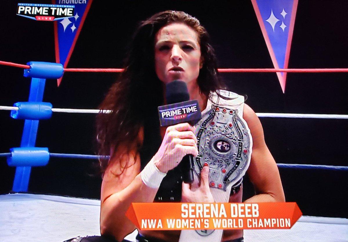 WWE Superstar Mickie James Reacts To Serena Deeb Winning The NWA Women's Championship