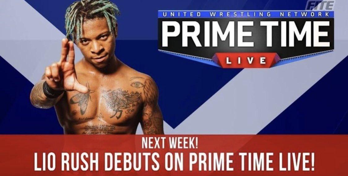 Former WWE Star Lio Rush To Make UWN Primetime Live Debut Next Week