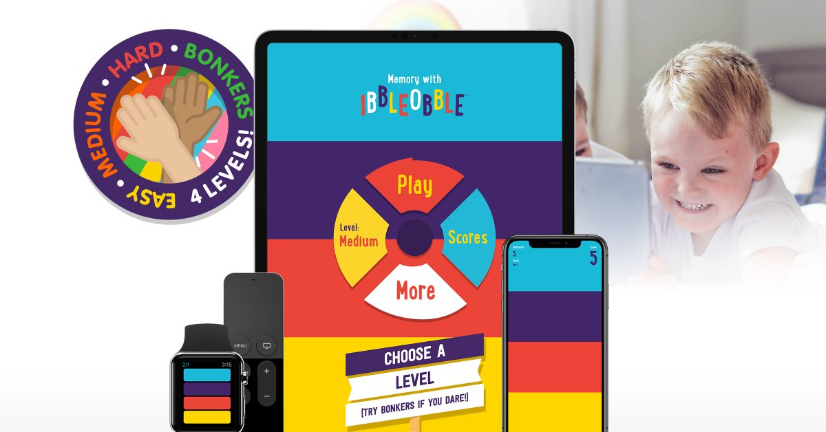 Ideal for all ages, give your #brain a #workout with our #memory brain #training #game  https://t.co/a4AGXTTssK  #SimonSays #BrainTraining #Games #Appstore #MacOS #tvOS #WatchOS #iOS  #ParentingInLockdown #ParentingInAPandemic #Parenting #parentingtips #iPhone #iPad #AppleTV https://t.co/V30D4tPyGq