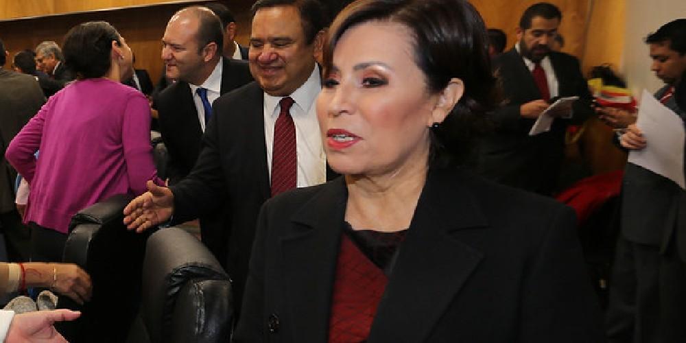 #OjoAquí: Rosario Robles dice que es