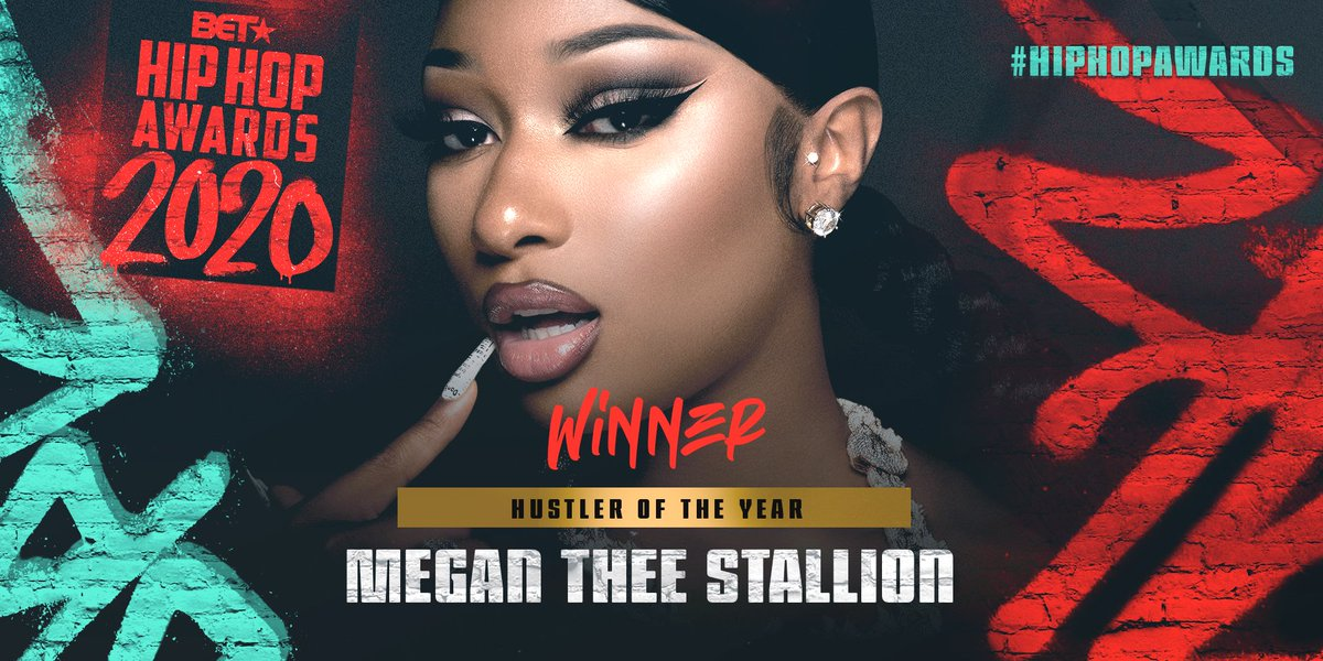 Shoutout to @Theestallion being named Hustler of the Year 👑 #HipHopAwards https://t.co/sbjFSWJYFO