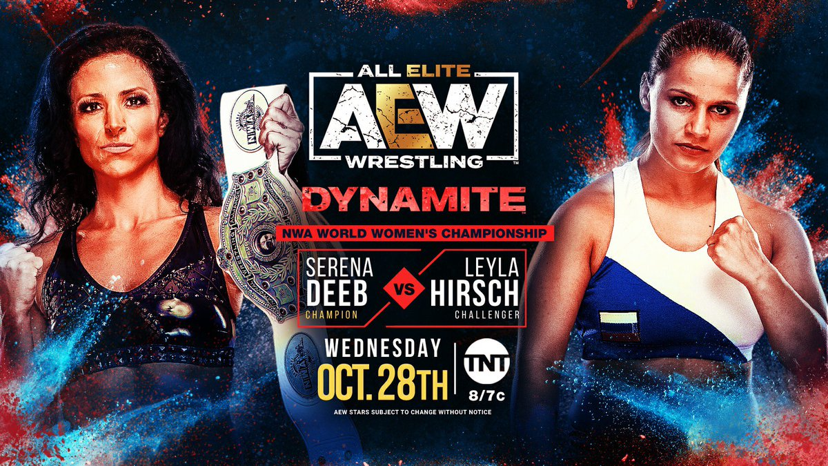 Serena Deeb To Make Her First NWA Women's Title Defense On AEW Dynamite
