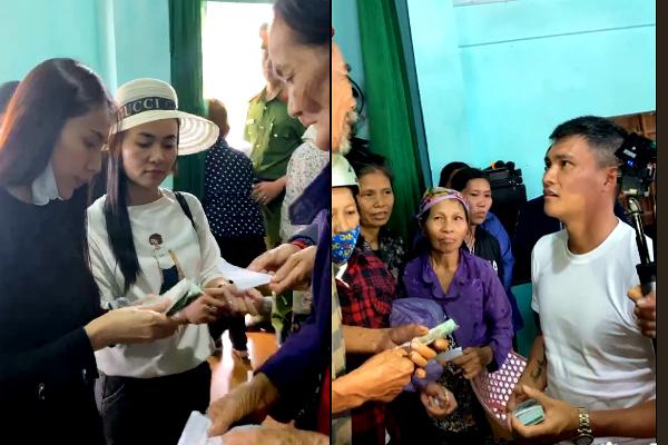 Thủy Tiên, Công Vinh mang vali tiền quay lại miền Trung cứu trợ lần 2 https://t.co/fG6qCfATq2 https://t.co/S6UtIH5Nci