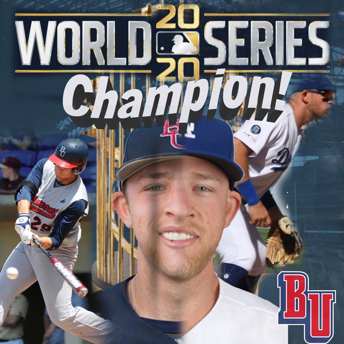 .@BelmontUniv officially has a #WorldSeries CHAMPION!💍 Congrats to former @GoBelmontBruins ⚾️ player @Matt_beatybu for winning the @MLB World Series with the @Dodgers 👏👏 📰| bit.ly/2JcKL7g #itsbruintime | #LATogether